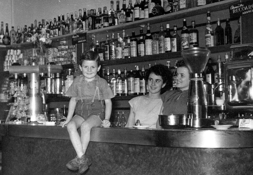 Bar Canepa - estate 1953