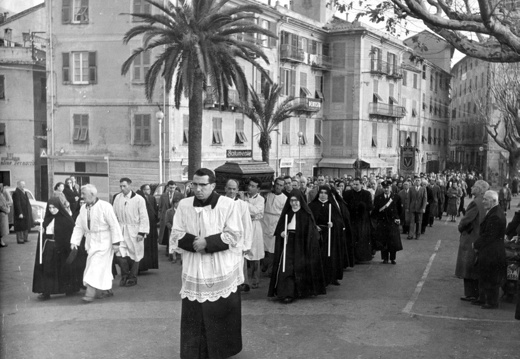Funerale di don Callandrone - 1957
